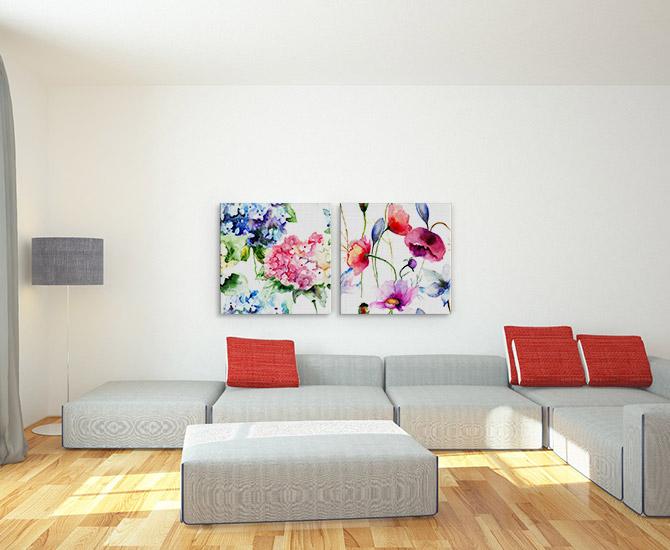 Living Room Decorating Ideas Wall Art