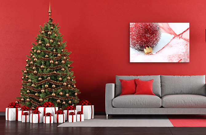 christmas decorating ideas wall art