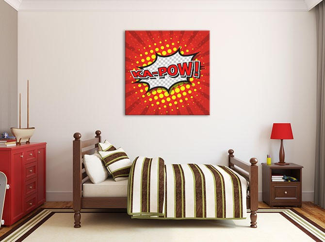 Andy Warhol Paintings - Pop Art - Teen Boy Room