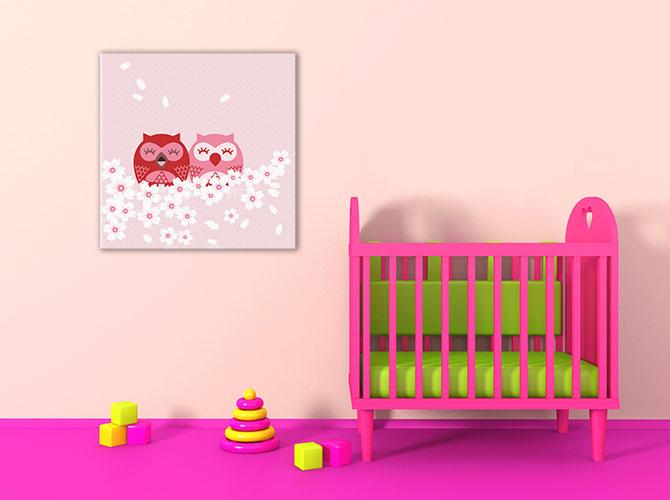 Nursery Room Ideas - Pink For Boys