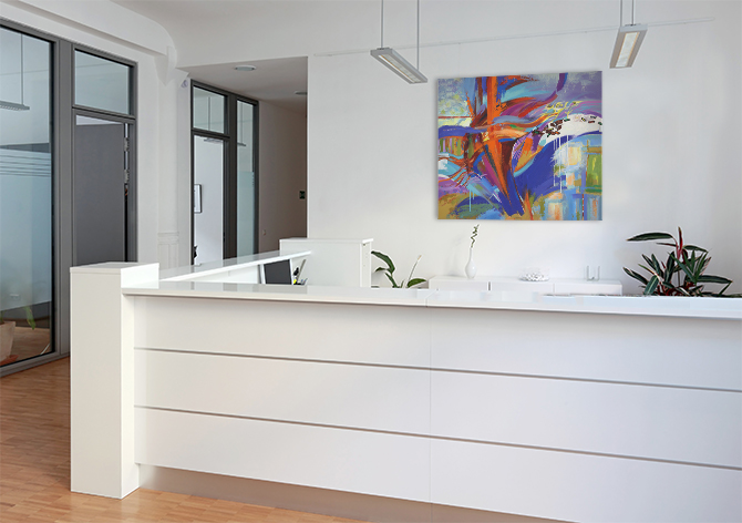 Office Decorating Ideas - Boss Will Love - Reception