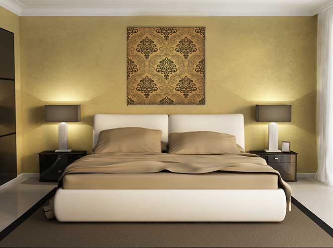 Art Deco Interior Design - Gold Luxury