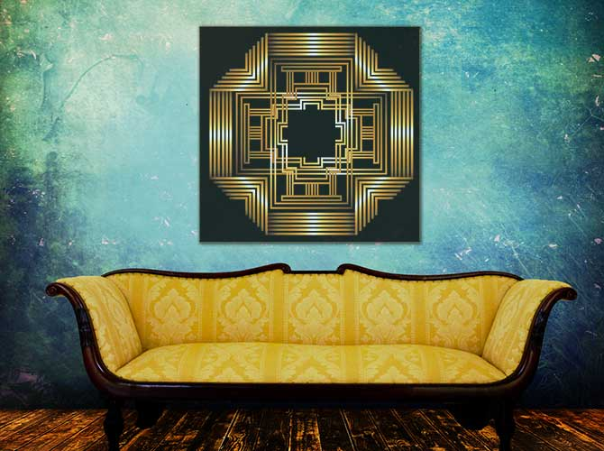 Art Deco Interior Design | Wall Art Prints