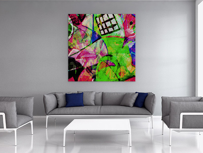Charmant Interior Design Blogs   Colourful Cubism