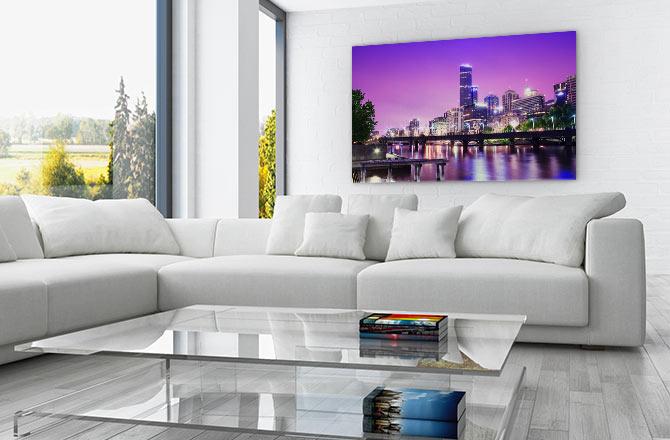 Design Inspiration - City Lights Wall Art