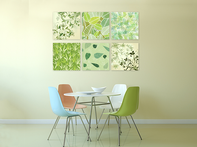 Wall Decoration Ideas - Green Collection