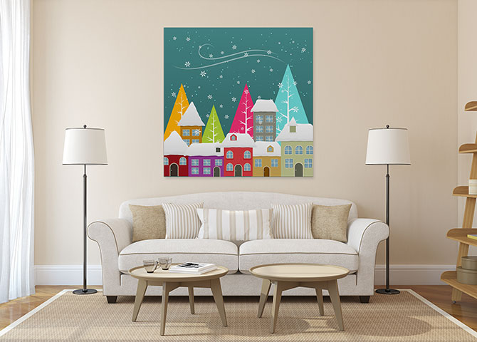 Christmas Art Ideas - Scandanavian