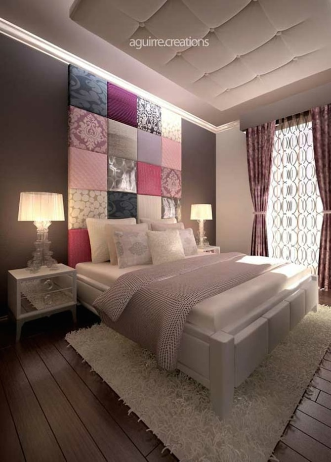 16 dreamy bedroom design ideas wall art prints for Passionate bedroom designs