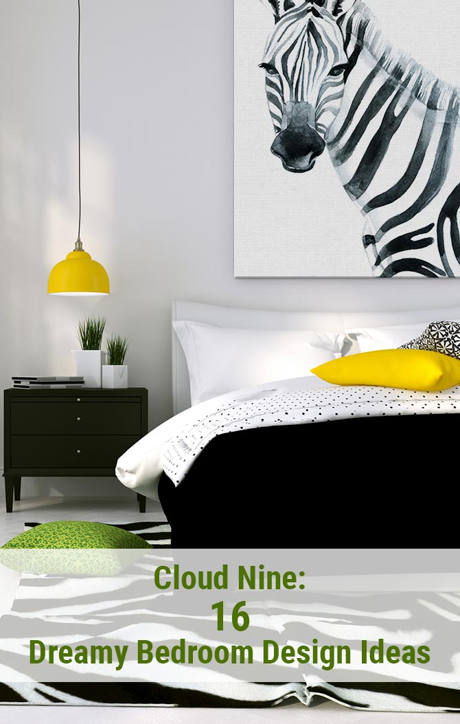 16 Dreamy Bedroom Design Ideas | Wall Art Prints