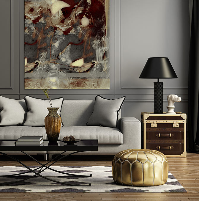 Metallic Style TREND in Decorating