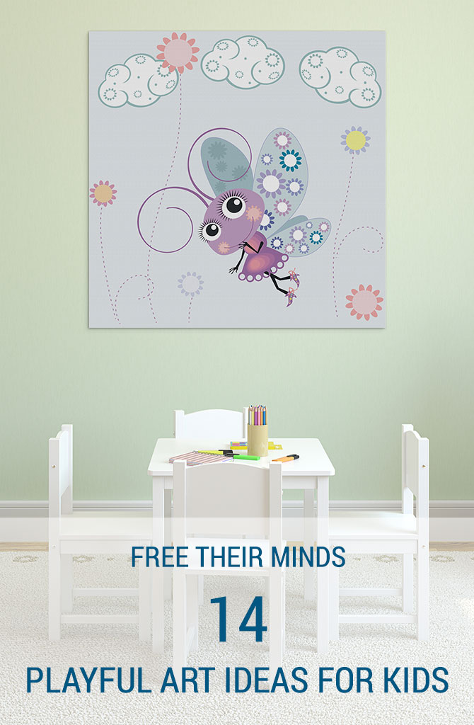 Wall Decor Ideas Blog : Playful art ideas for kids wall prints