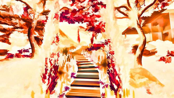 Abstract Digital Art - Carina