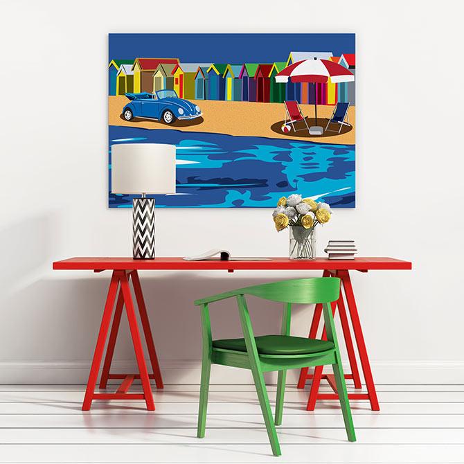 Apartment decorating ideas - crazy with colour
