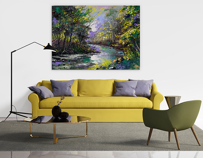 Landscape Painting - Reinvigorate