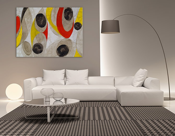 16 Masterful Modern Living Room Ideas   Wall Art Prints