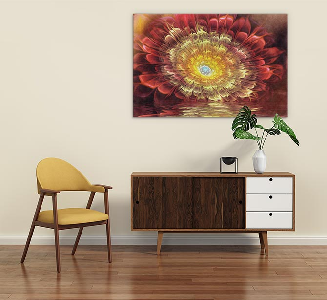 Pam Amos - Contemporary Art - Antique Rose