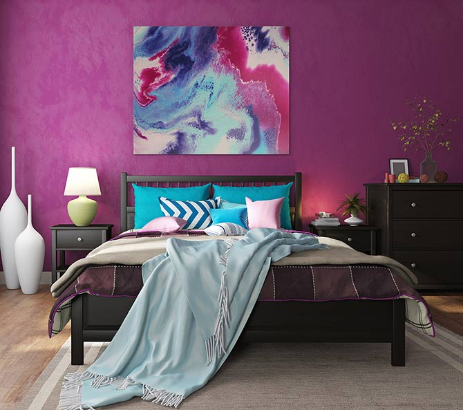 Bedroom Interior Design - Candy