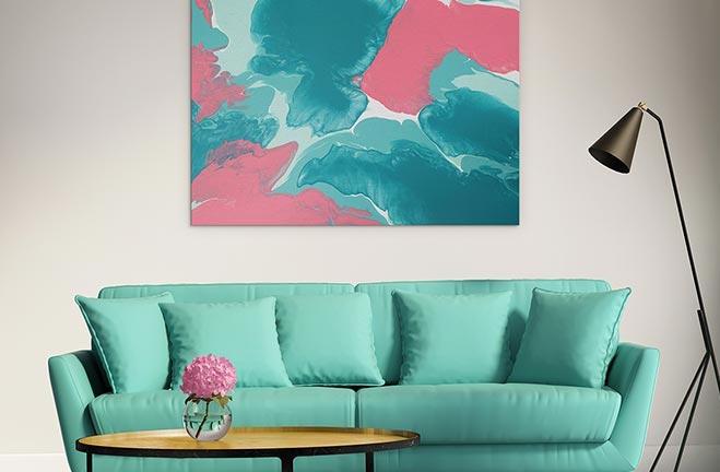 Colour Contrast - Turquoise Match