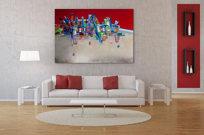 Futurism Art - Tumble
