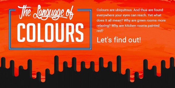 Colour Psychology - Language Of Colours