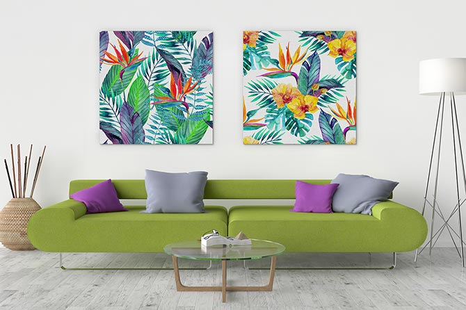 Watercolour Painting Ideas - Tropical