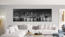 Supersize your style with large wall art