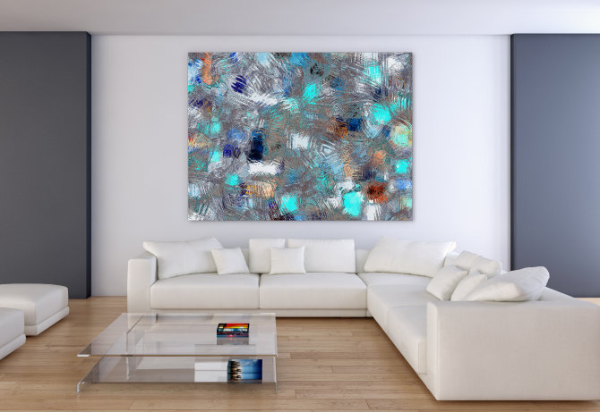 Large Wall Art: How To Supersize Your Style With Large
