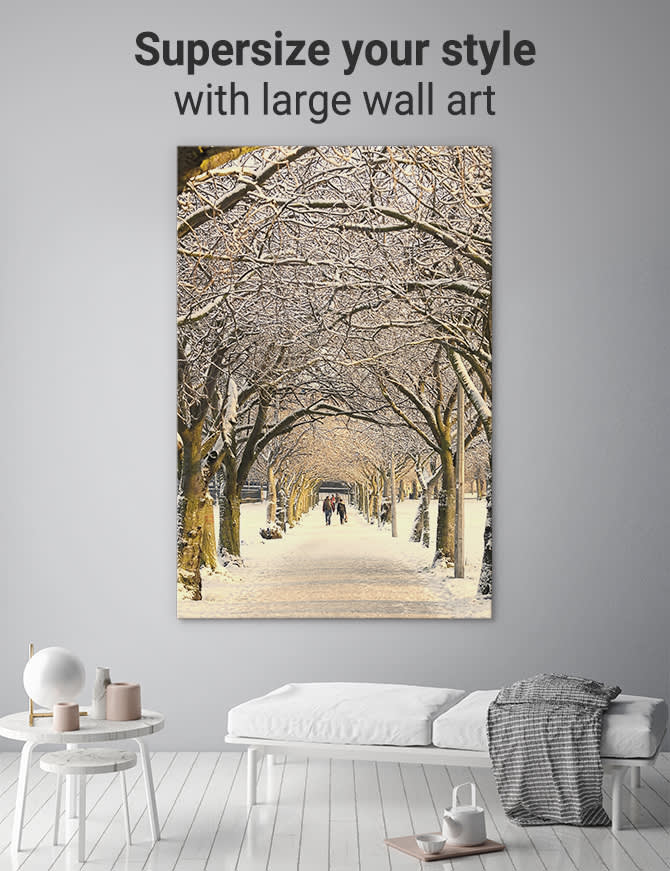 Large Wall Art How To Supersize Your Style With Large Canvas Prints