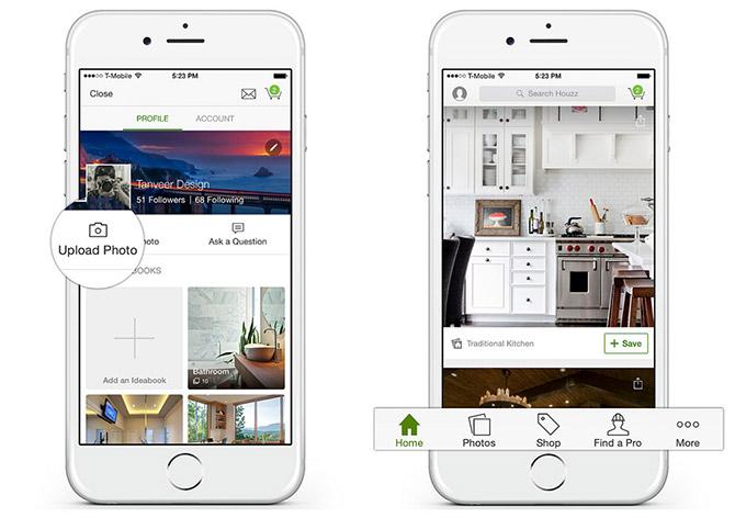 Houzz Interior Design Apps