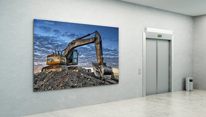 corporate art for mining industry