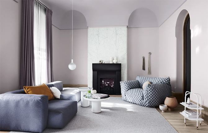 interior colour schemes from Dulux