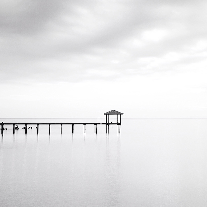 minimalist photography in mono
