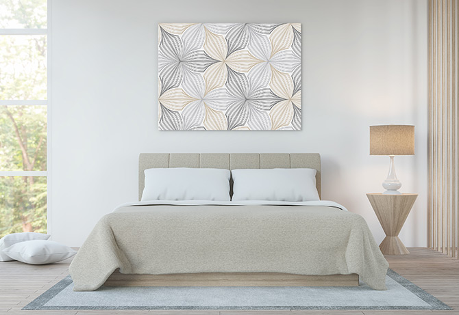 floral patterns to put in the bedroom