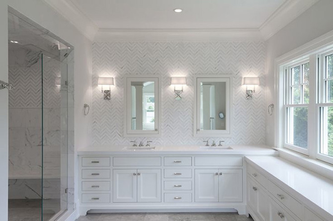 modern hamptons style bathroom