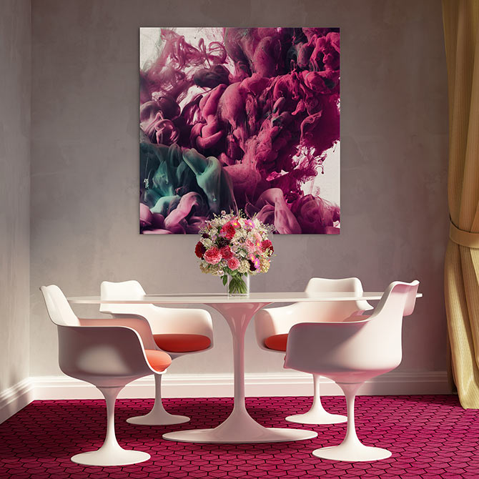colour combinations with burgundy