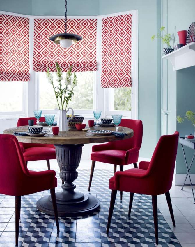 colour combinations for dining room