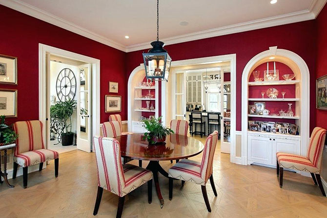 red colour combinations