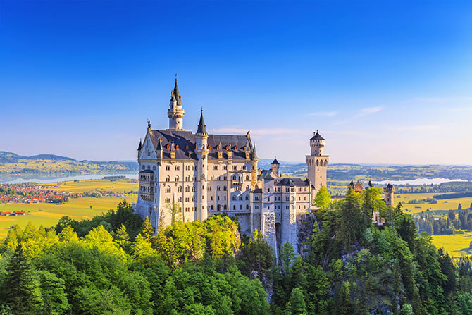 Famous landmarks in Germany