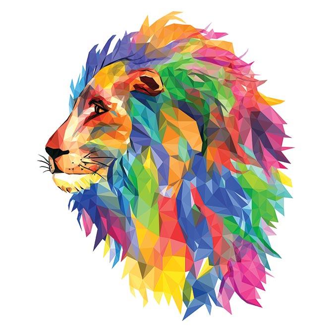 lion contemporary art
