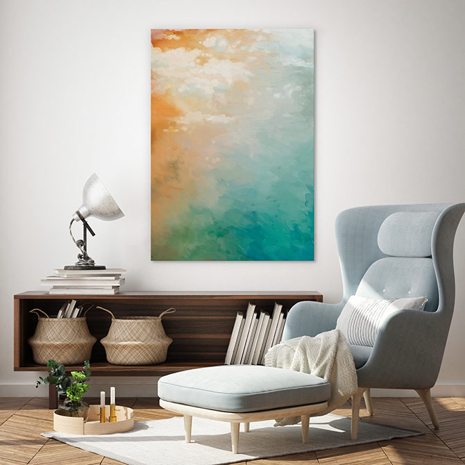 beach paintings for home