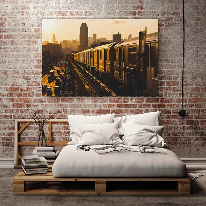 industrial interior design in the bedroom