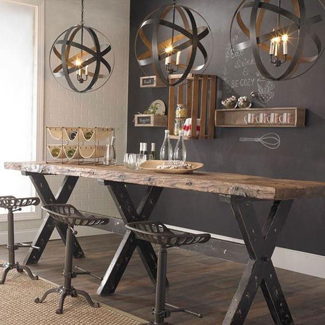 home industrial interior design