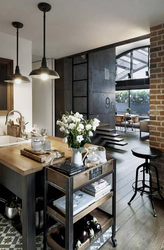 industrial interior design for homes