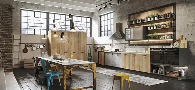 what is industrial interior design