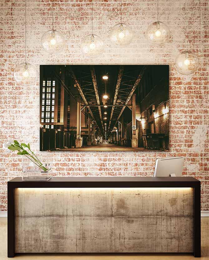 good industrial interior design