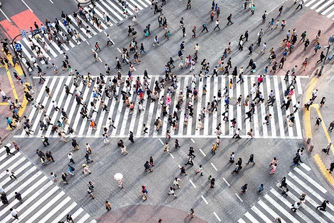 日本的无人机摄影