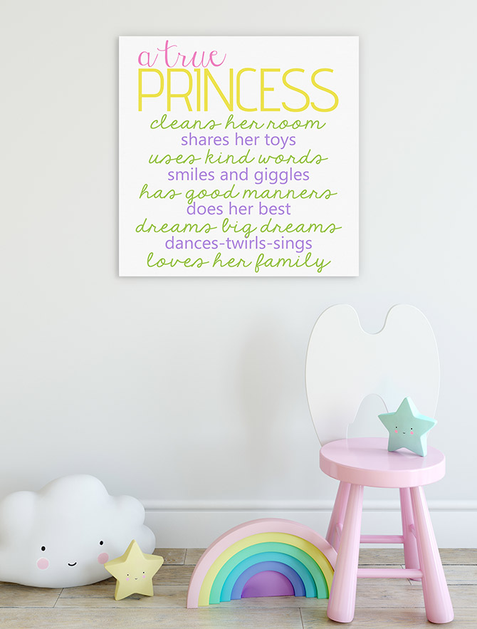 princessy inspirational quotes for kids