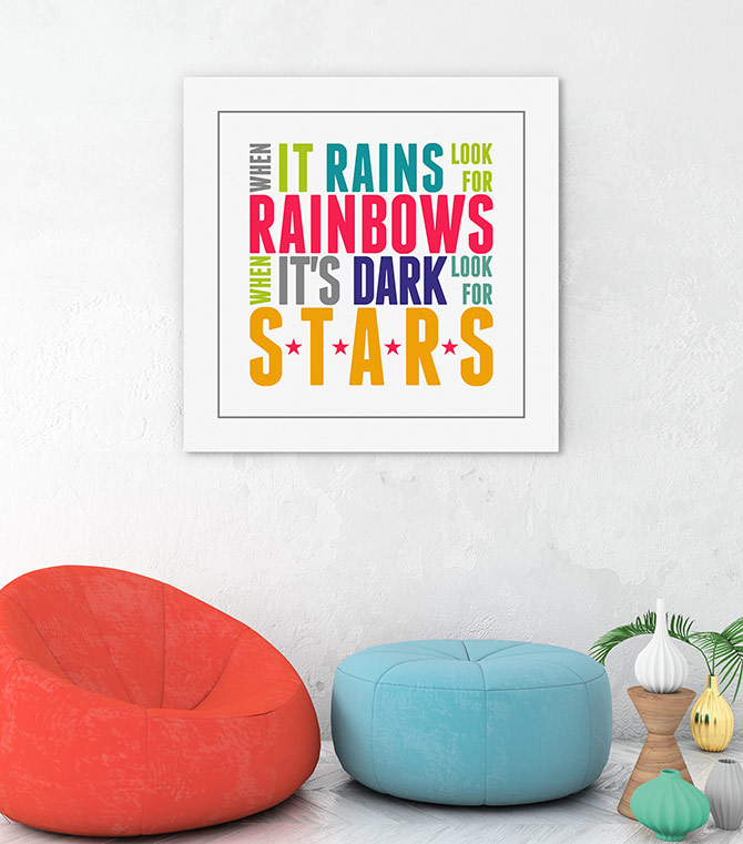 colourful inspirational quotes for kids
