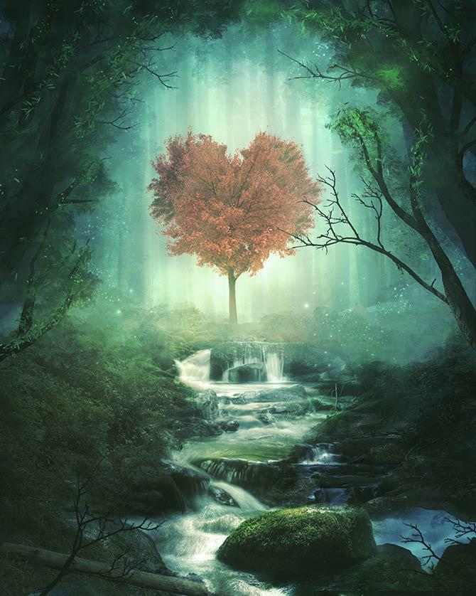 magical fantasy artwork