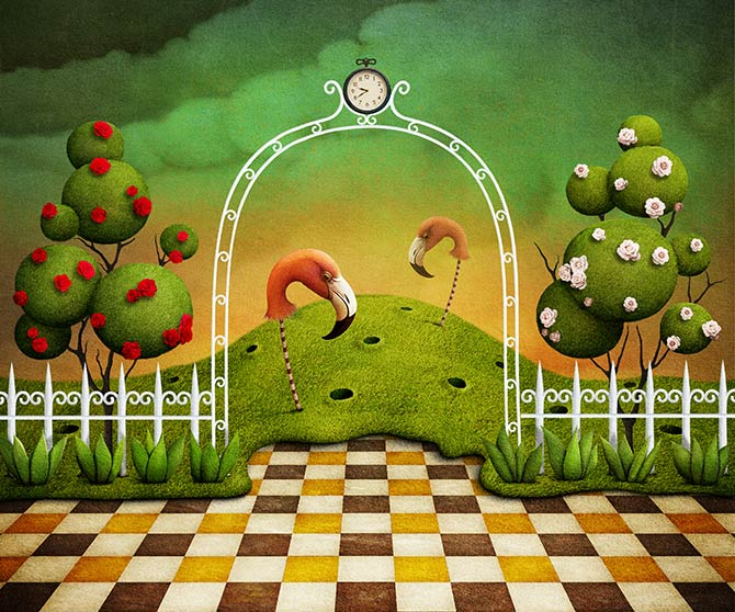 fantasy artwork based on movies